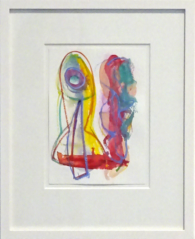 Rob McLeod  Untitled Study , 1994 Framed gouache on paper 205 x 145 mm  _______
