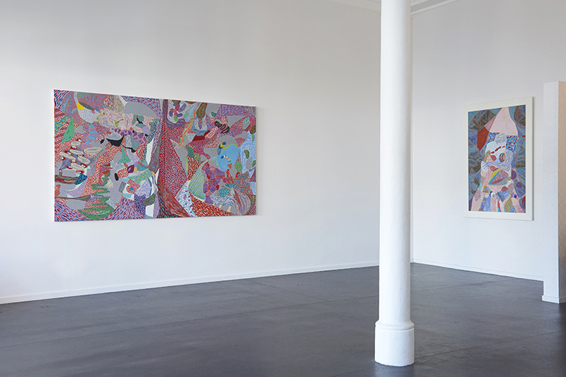 Installation view Arie Hellendoorn:  Mind Mapping  {Suite}, Wellington  _______