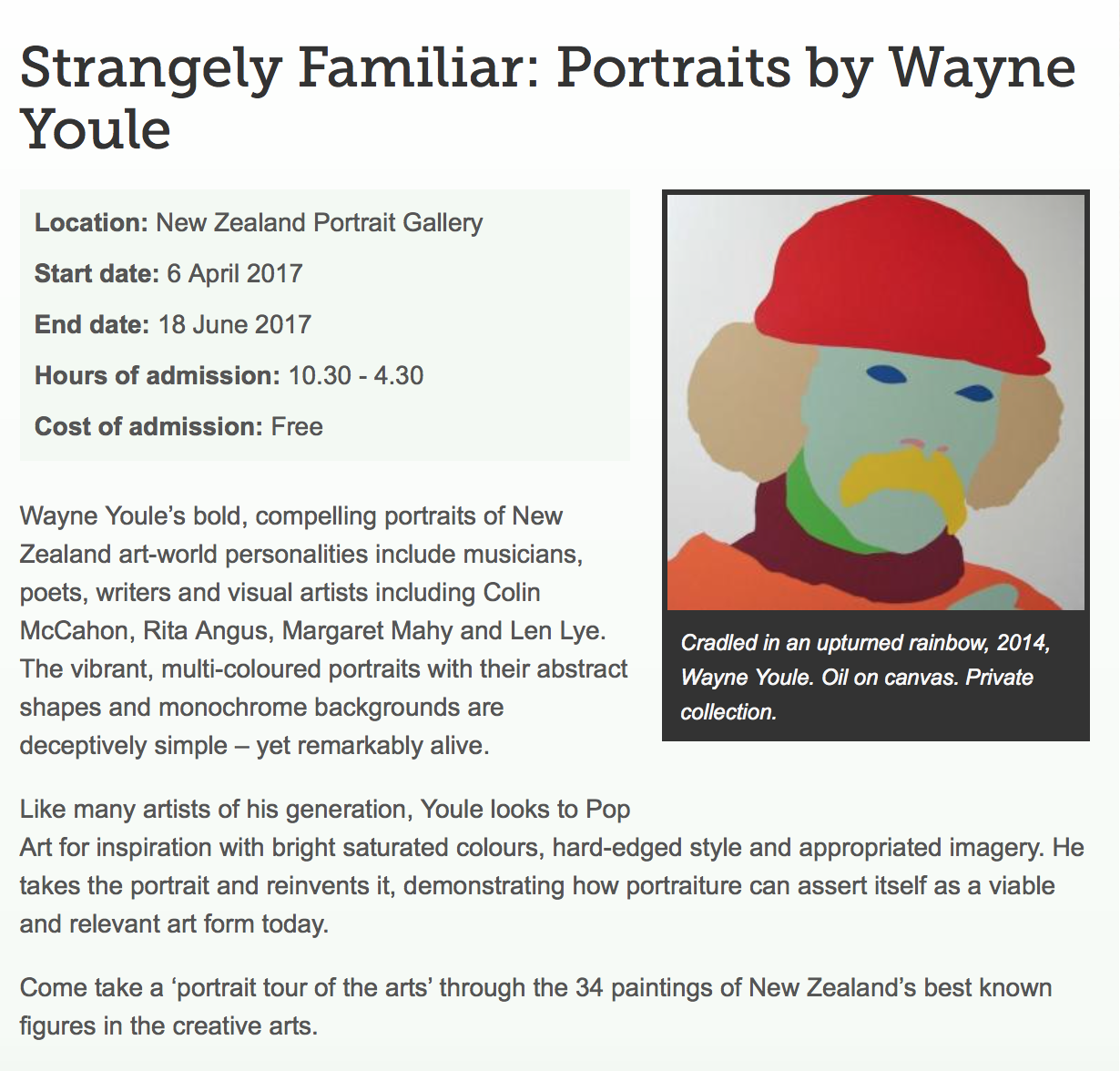 Wayne Youle - Ralph Hotere - Strangely Familiar