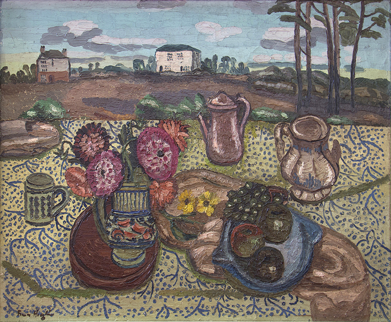 Frances Hodgkins  A Country Window , 1929 Oil on canvas 607 x 762 mm  _______