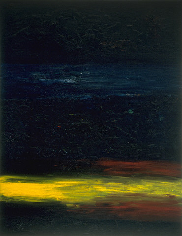 Jeffrey Harris  Untitled , 1991 Oil on canvas 1984 x 1534 mm [Collection of the Auckland Art Gallery Toi o Tamaki]  _______