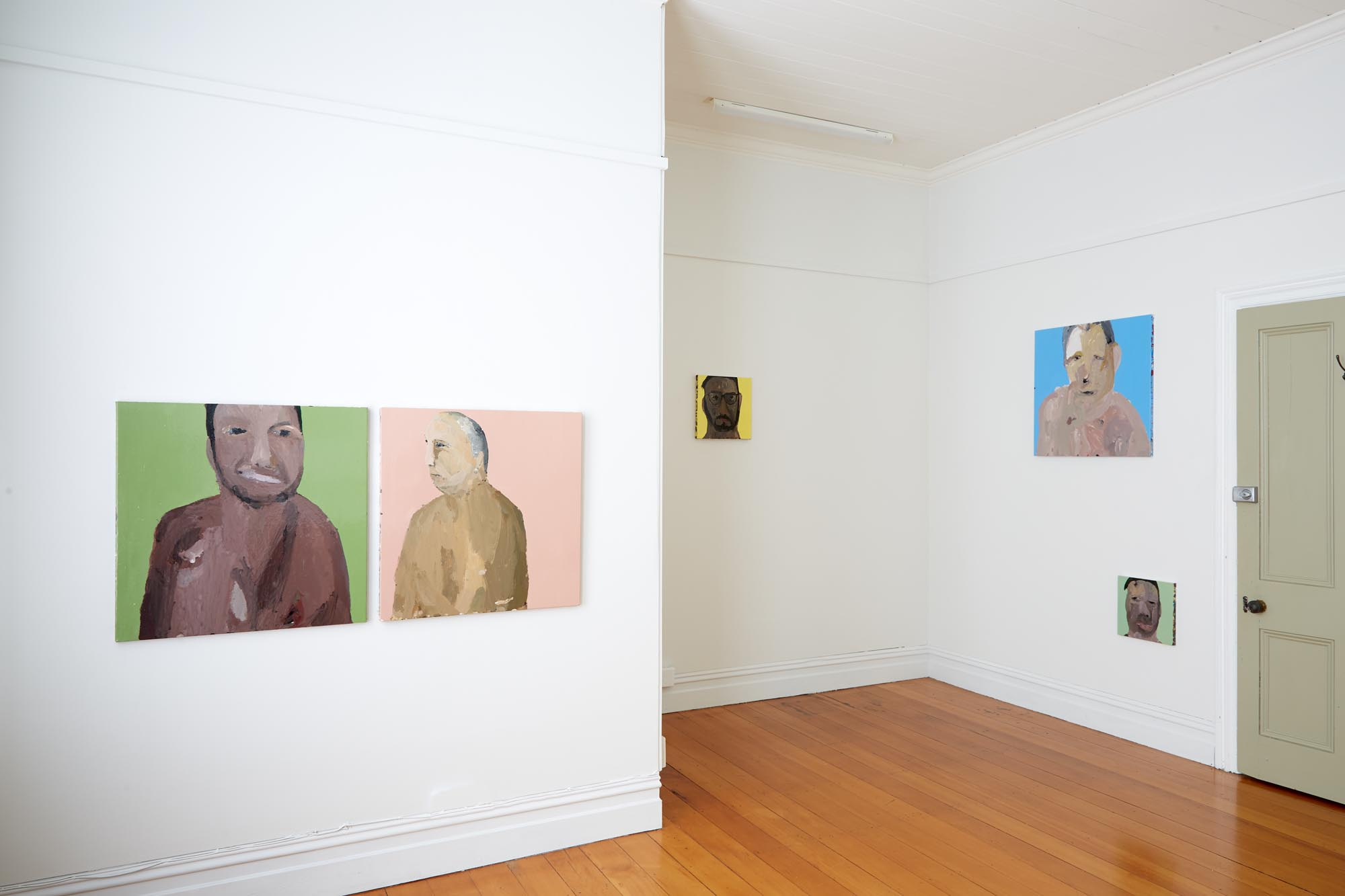 Richard Lewer  Getting to Know You  Installation view {Suite}, Wellington  ______
