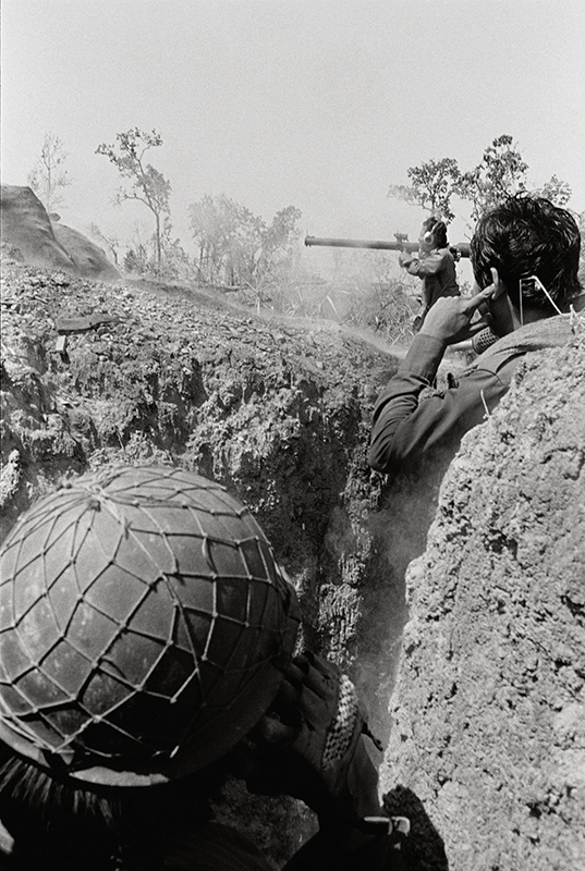 Bruce Connew  On the way to an ambush #16 , 1989 Selenium-toned, silver gelatin, fibre print Dimensions variable Edition open  _______
