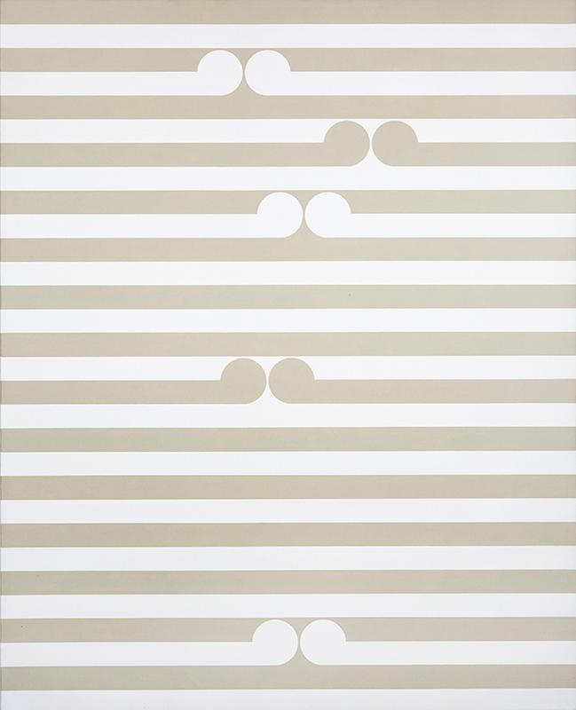 Gordon Walters  Apu , 1980 PVA and acrylic on canvas 1220 x 980 mm  ______