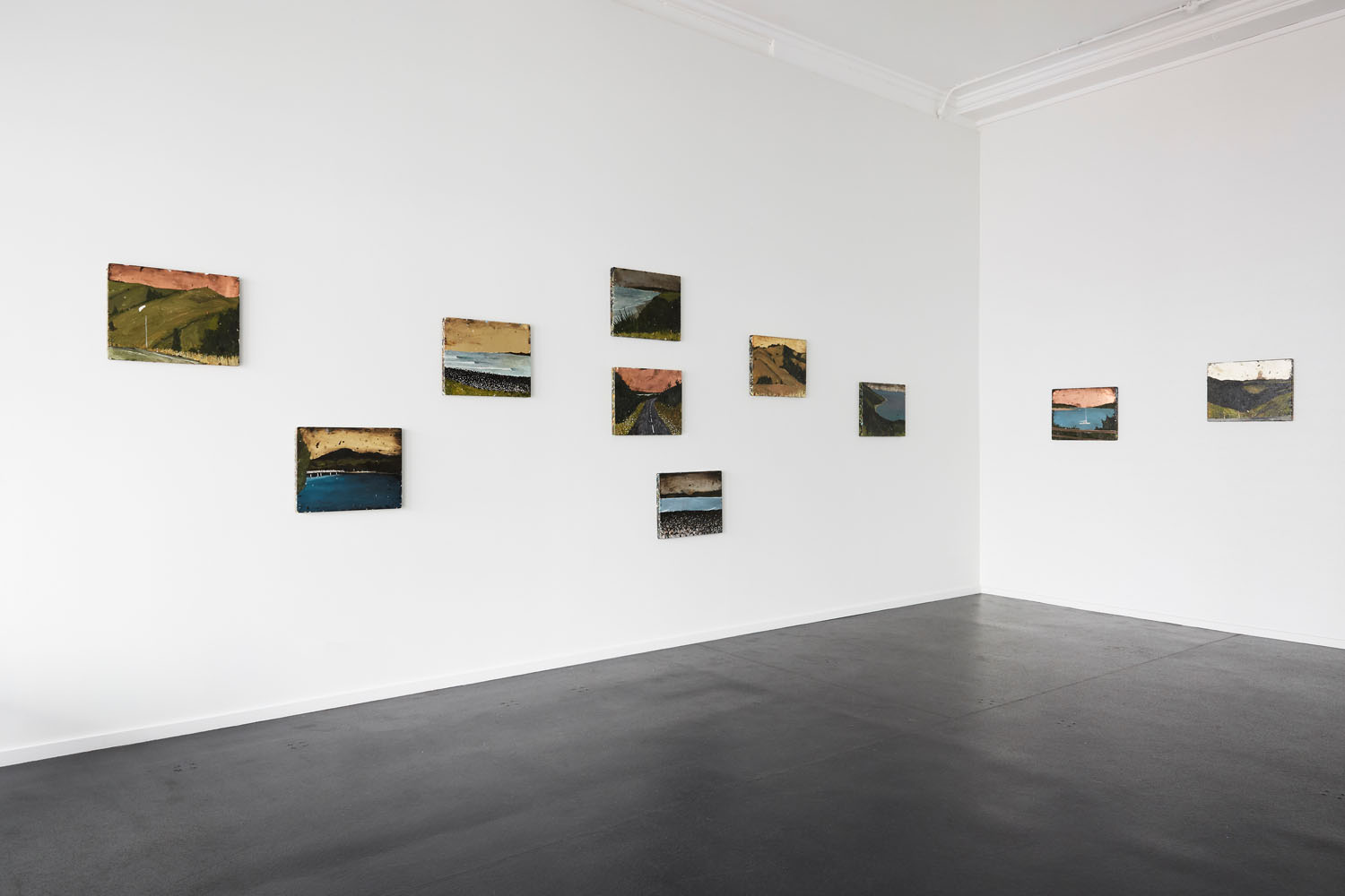 Richard Lewer  It's better to burn out than to fade away  Installation view {Suite}, Wellington  ______