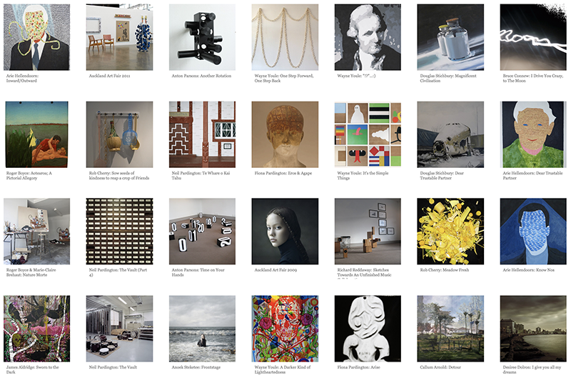 {Suite} exhibition archive