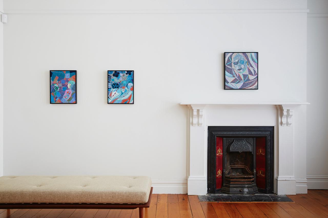 Arie Helledoorn Installation view {Suite}, Wellington  ______