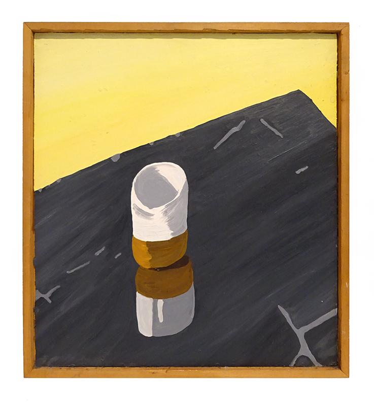 Jeffrey Harris  Still life , 1971 Framed oil on board 450 x 410 mm $22,000 incl GST  _______