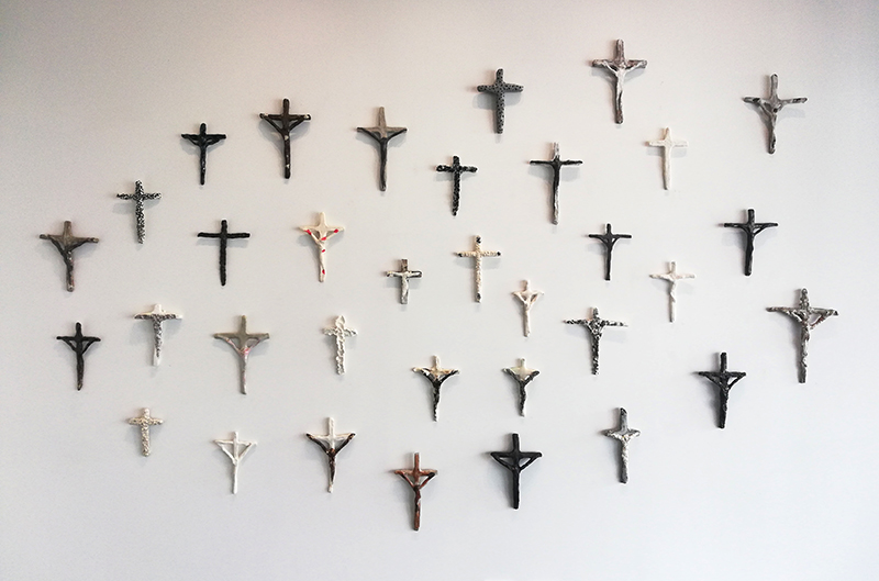 Richard Lewer   There is light and dark in us all  Installation view
