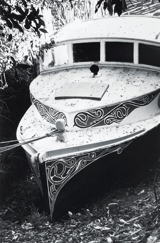 Peter Peryer  Edward Bulmore's Launch,  1993 Signed vintage silver gelatin print 430 x 280 mm [Private collection]  ______
