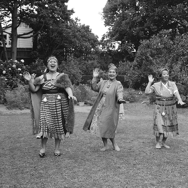 Ans Westra  Maori Women's Welfare League Conference Garden Party, Wellington,  1962 Framed inkjet print 380 x 380 mm Edition of 25 $2,150 incl. GST  ______