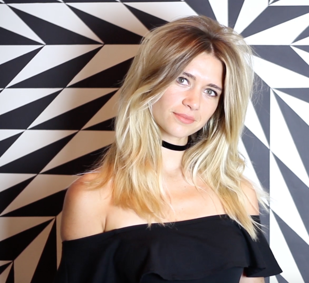 How-To's For Hairdressers: Bardot Blow Dry