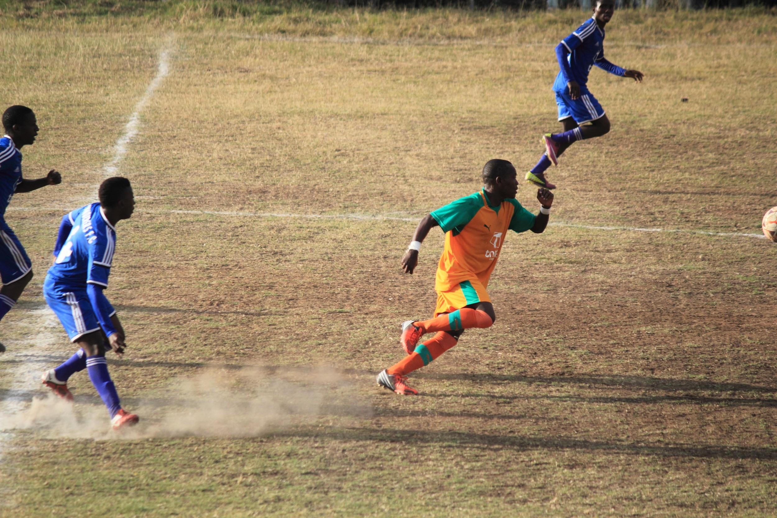 Football (soccer) game