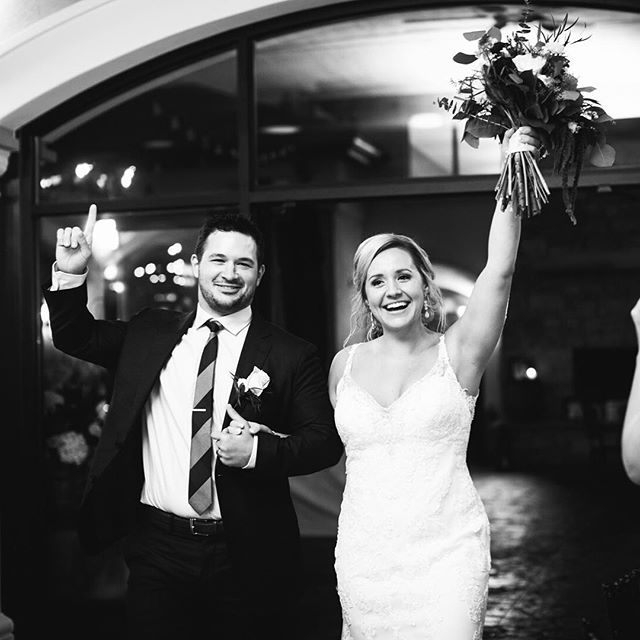 """i love this celebratory photo and entrance from vanessa's wedding. i know that black & white photography doesn't showcase my makeup skills, but it sure does melt my hear. she recently left me the sweetest review. . . """"If you want everyone looking flawless and the best service ever, she's your girl. One of the best decisions I've ever made- I've never felt so beautiful and never felt so pampered!!!! Everyone at both my wedding, and my friends wedding commented on how stunning everyone looked. HIGHLY recommended."""" . . Thank you, V! . . photo: @hannahperssonphoto 💄: @jacquelinegamache . . . . . #chicagowedding #chicagoweddings #chicagovintage #theknot #theknotweddings #weddingwire #iamtheeverygirl #chicagostyle #makeupartistchicago #shesaidyes #justengaged #weddingphoto #lessweddingstress #muachicago #bridalairbrush #effortlessbeauty #beeffortless #chicagocollab #soloverly #huffpostido #photobugcommunity #greenweddingshoes #junebugweddings #weddingmakeup #bhldnchicago #bhldn #anthrobeauty #bhldnbride"""