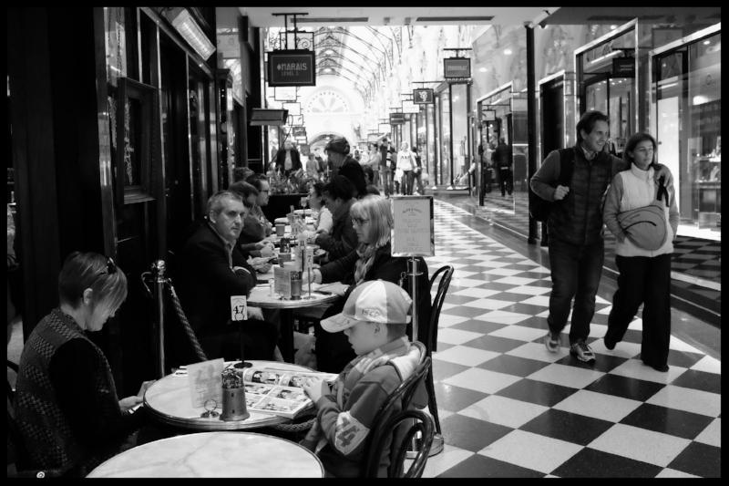 The Royal Arcade, Melbourne.