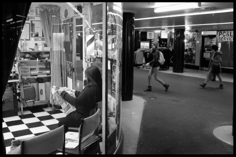 Flinders Street Station, Campbell Arcade.