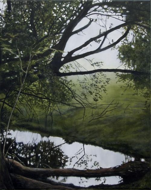 Repo #1  Oil on linen, 41 x 51 cm