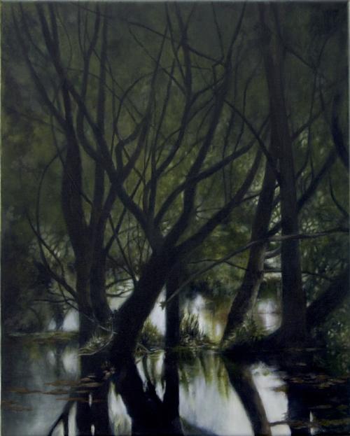 Repo #3  Oil on linen, 41 x 51 cm