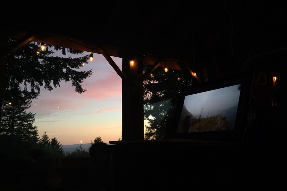 """""""cool show about human/nature screened in human/nature."""" photo + quote by Wil Kristen"""