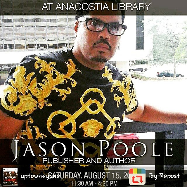 Come Out And Meet Jason Poole! And Grab Another One Of His Award Winning Books Prince Of The City This Saturday August 15 Anacostia Library Be There!!Book Are Only $10 Shout Out @dcbookdiva. #PrinceOfTheCity #BestSellingAuthor #BestSelling #Prince #Of #The #City #Books #KnowThat #Published #Author #Best #Real #Moves