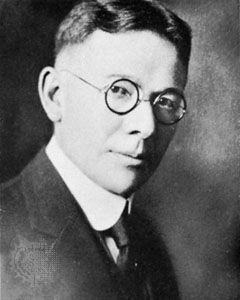 Lewis Madison Terman, developer of the first American IQ test and proud eugenicist.