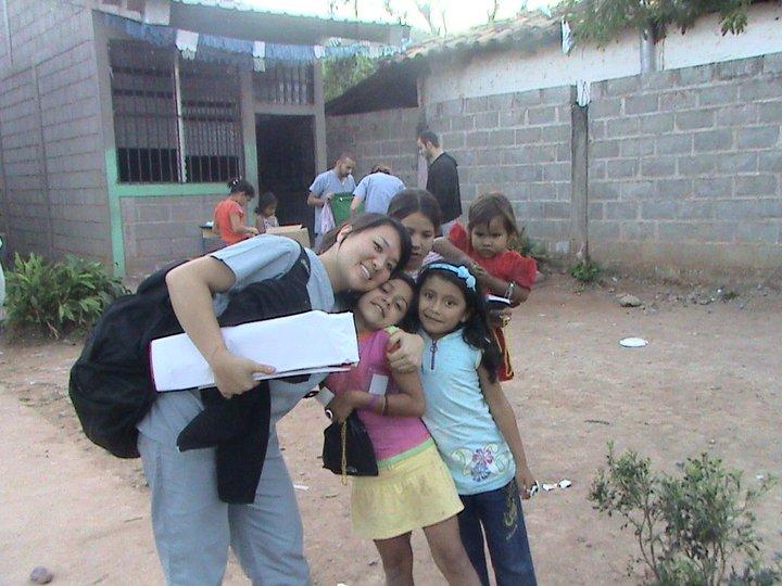 Dr. Young in Copan Ruinas, Honduras