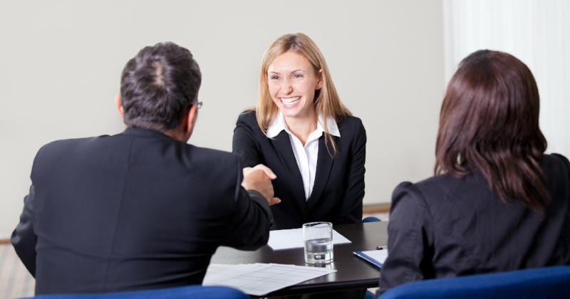 try not to SMILE...when you are interviewing for your dream job.