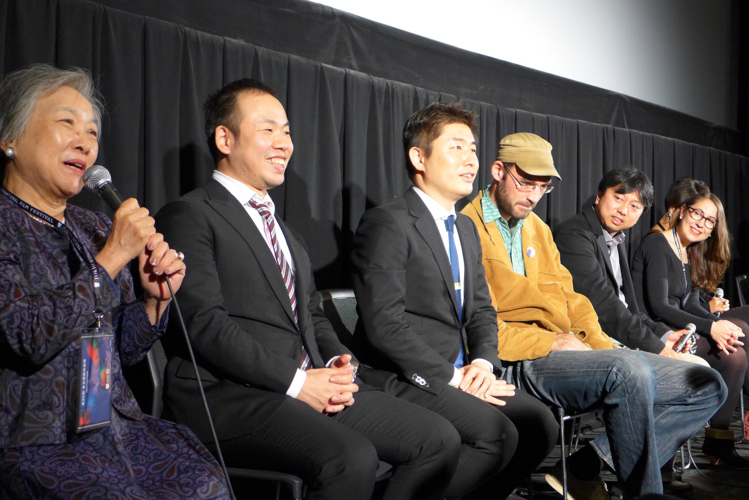 観客の質問に答える南 ヤエさん(Photo: Normal Screen)