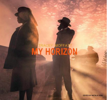 King, N (ed.) 2019   Tracey Moffatt: My Horizon  ,   Thames & Hudson  Contributing authors include Germano Celant, Adrian Martin, Moira Roth, Susan Bright, Djon Mundine, Alexis Wright, and Romaine Moreton.
