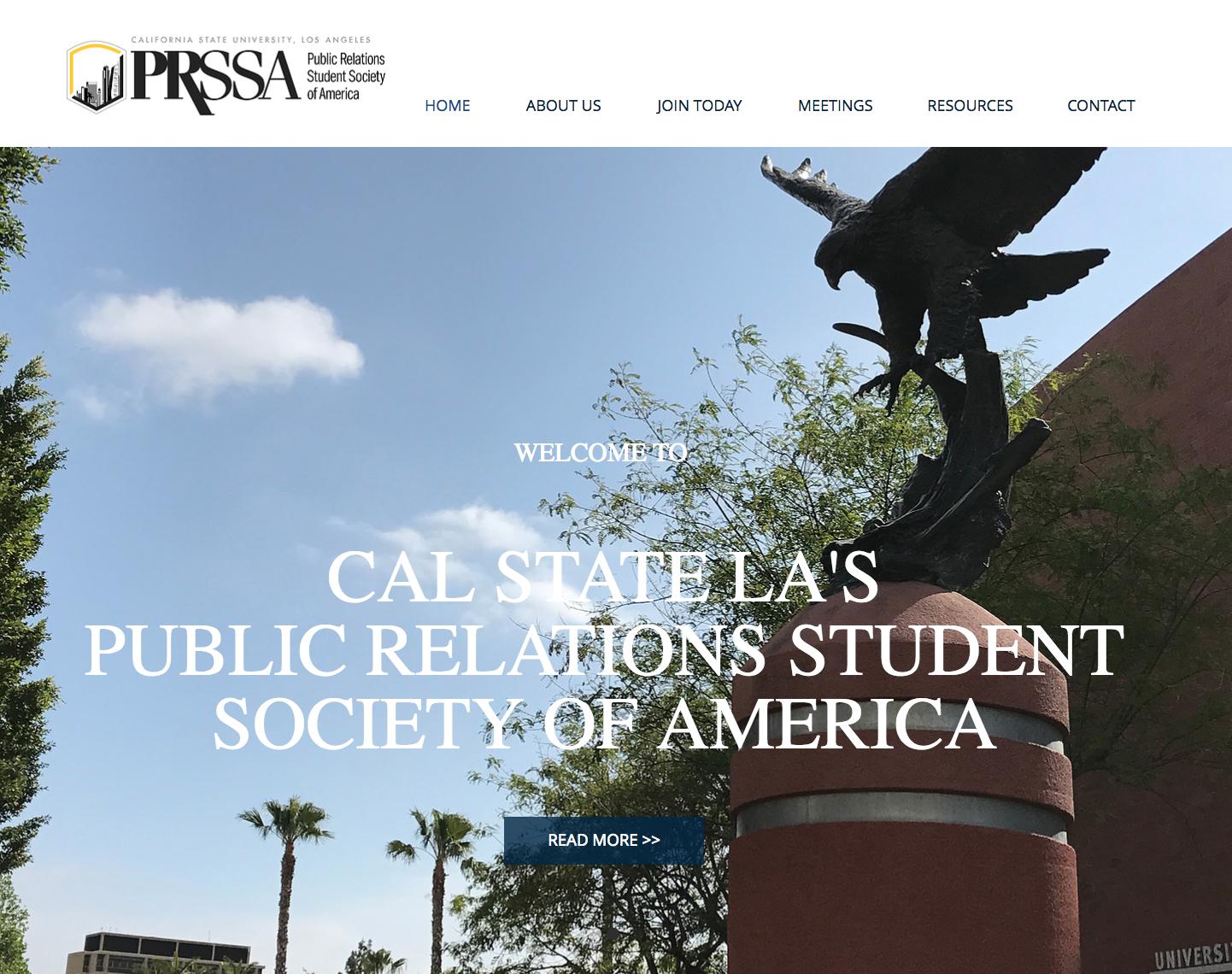 Cal State LA PRSSA Website