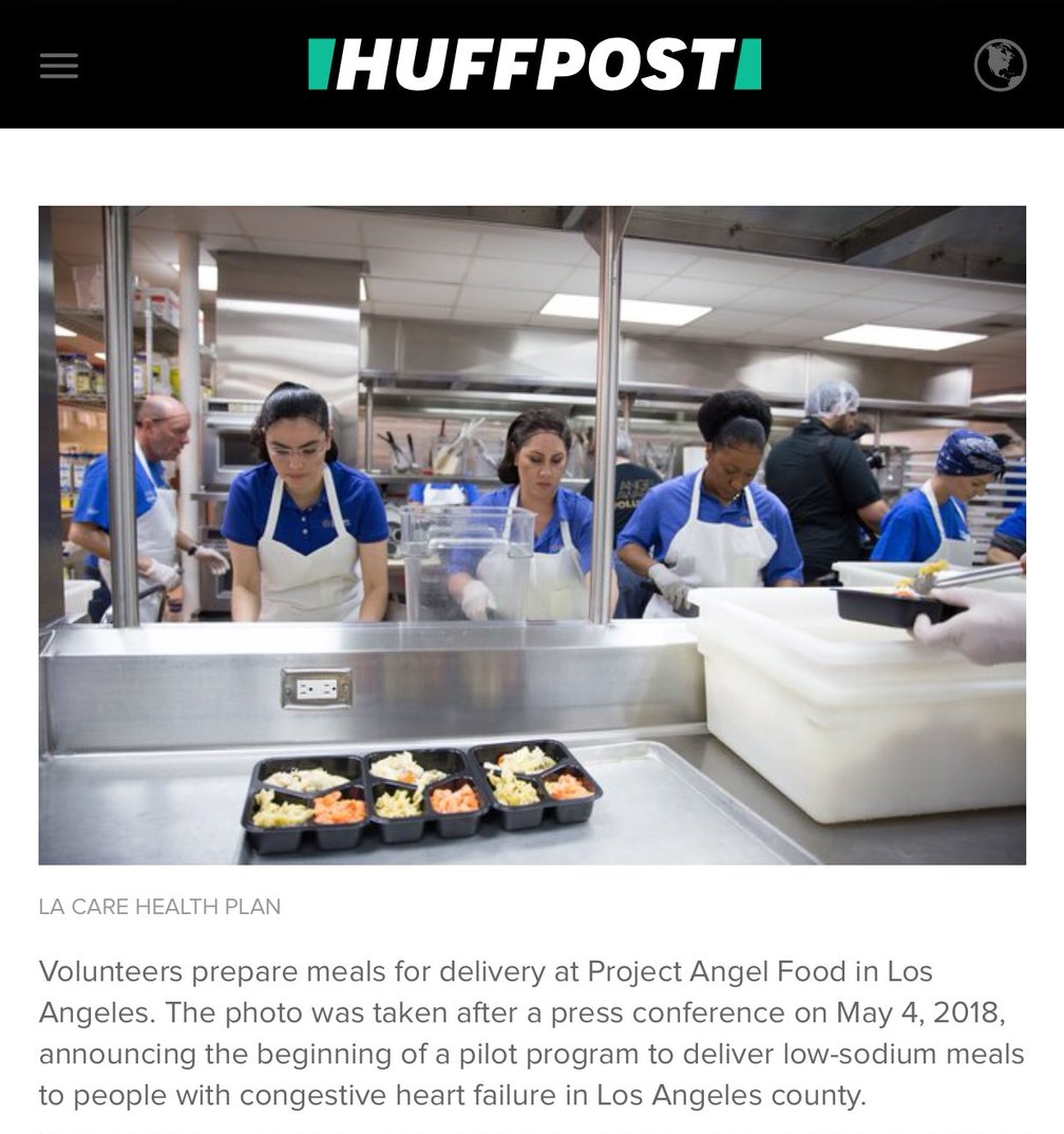 Photo featured in HuffPost Article