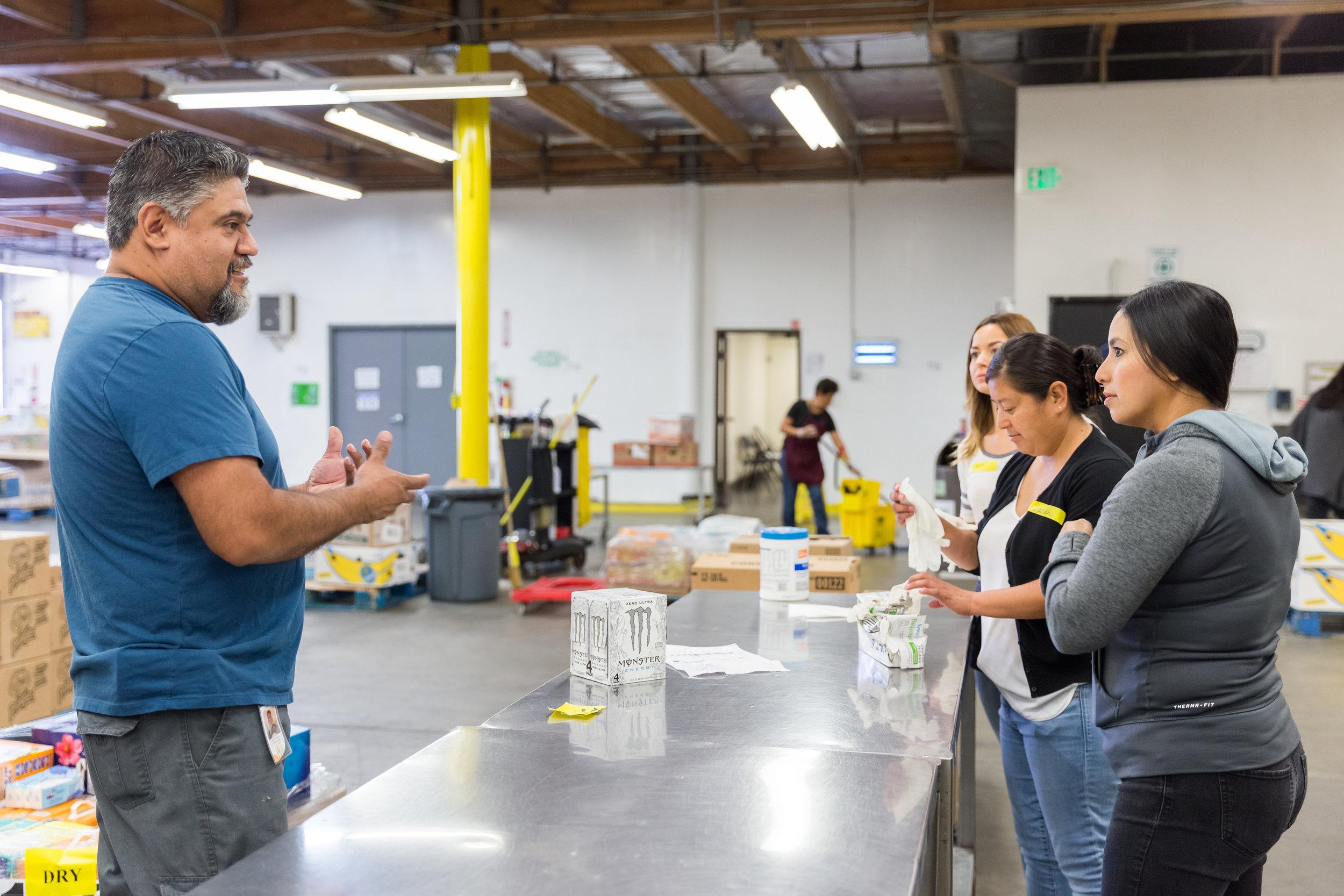 Los Angeles Regional Food Bank Volunteer Day