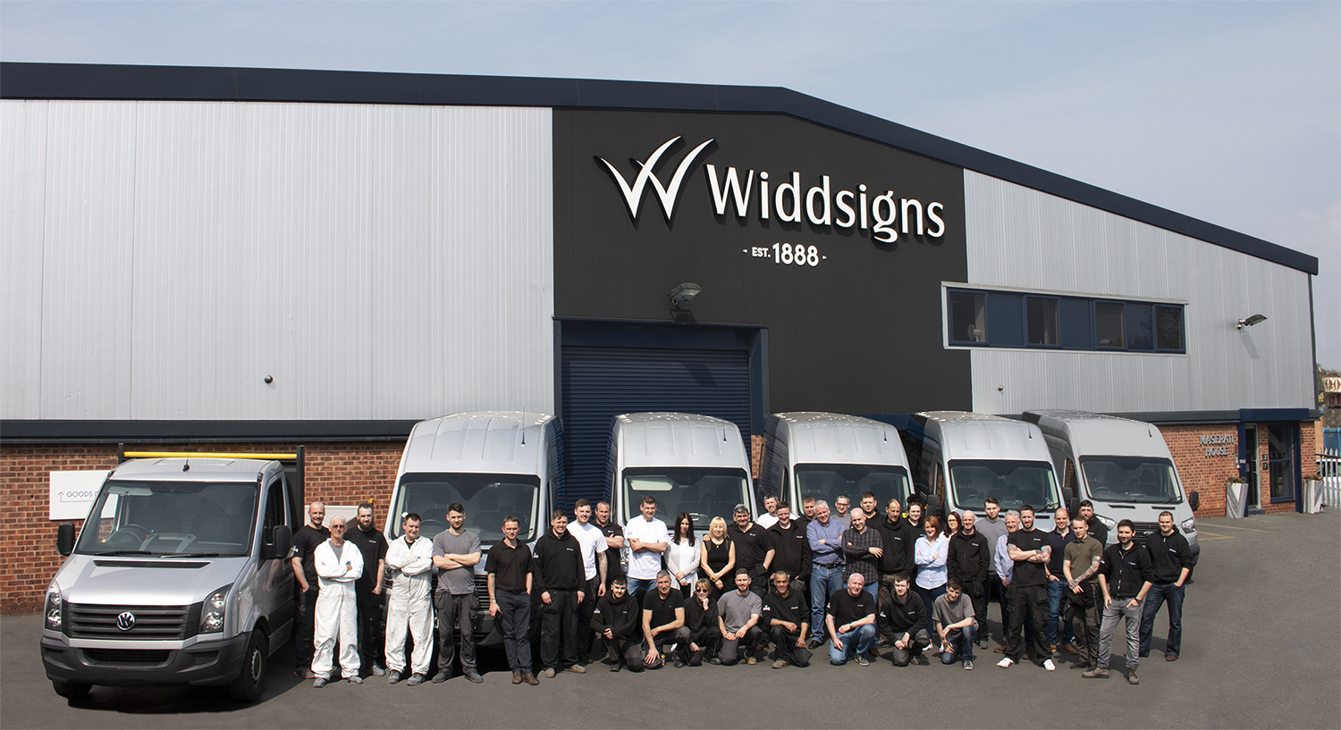 We've recently given our HQ a refurbish which was a great reason for a team photo with the Widd fleet!