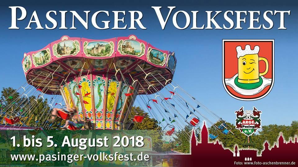 Veranstaltungsprogramm siehe Internetseite des Veranstalters   www.pasinger-volksfest.de