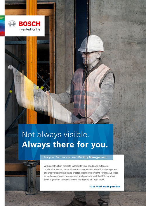BOSCH - Facility Management Global Campaign 2018