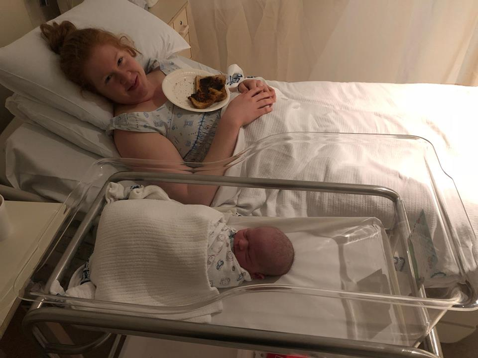 Birth story - Katie and baby Lachlan — The Positive Birth