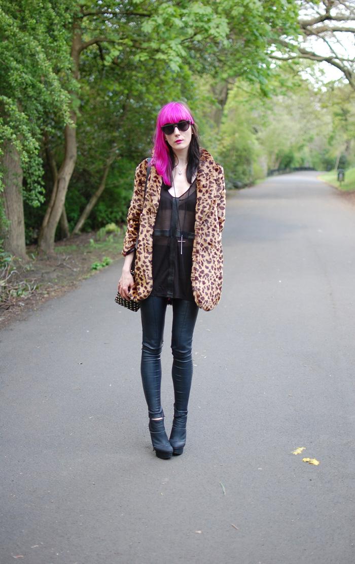Coat,leggings and boots
