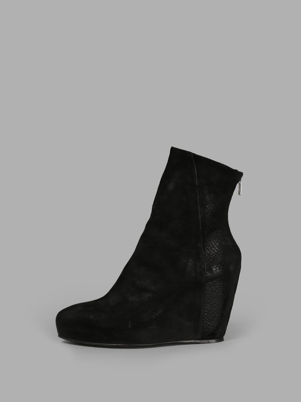 DREAM BOOTS - _____________I've worn plain black wedge boots forever and these Last Conspiracy versions are my dream boots. Sold out in my size sadly.