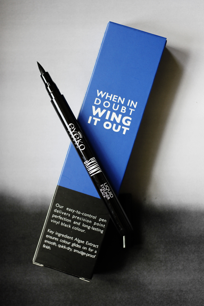 SKINNY LIQUID LINER - ____________This was an utter dream to apply and looked glorious on. Unfortunately my oily skin made short work of it and after a few hours it was smudged, but if you do wear felt pen liners you will absoltely adore this.