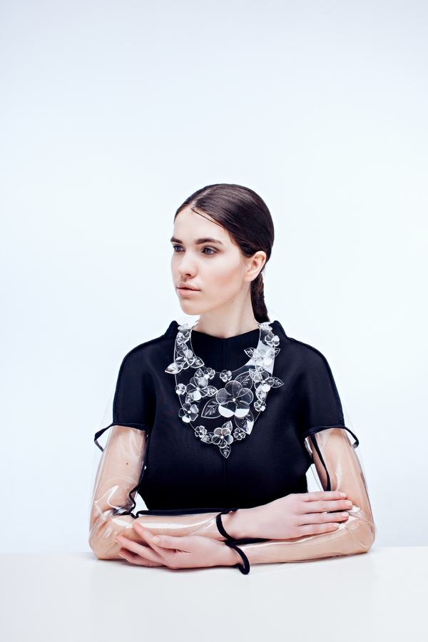 VANISHING BEAUTY - Perspex is given a sophisticated makeover by New Orleans based jewellery brand Stern.