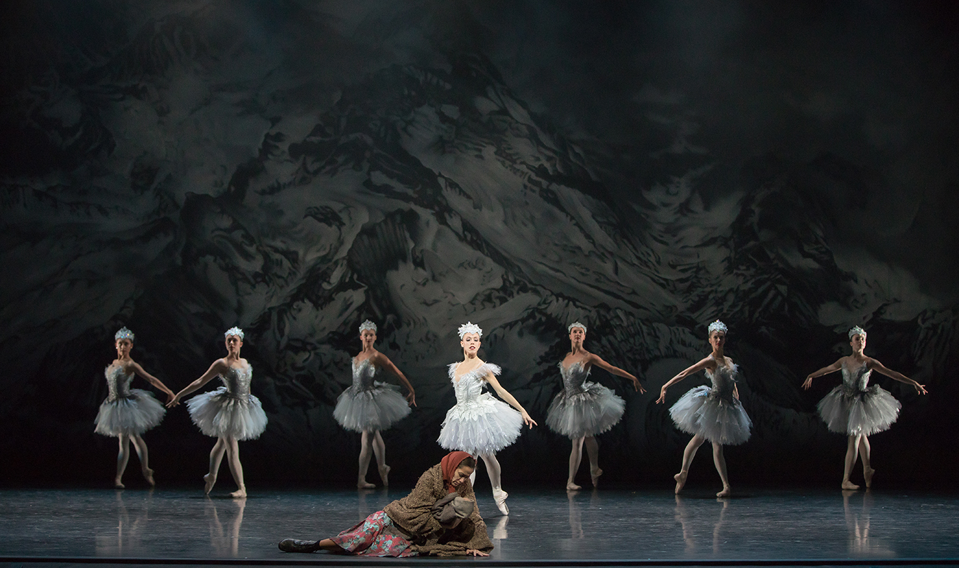Constance Devernay and Scottish Ballet Company in Sir Kenneth MacMillan's The Fairy's Kiss. Photo  y Andy Ross.jpg