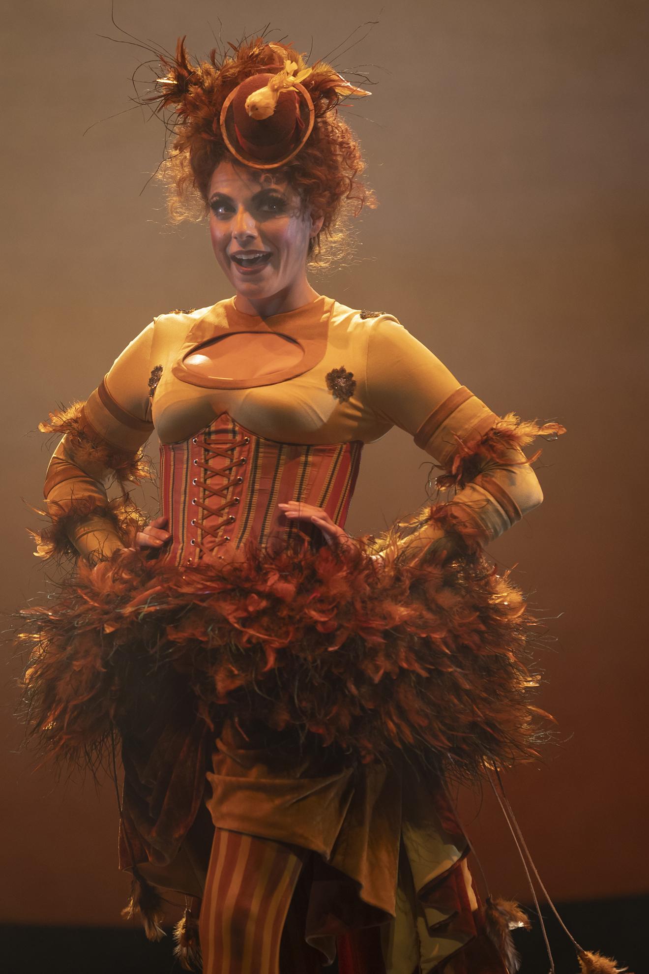 Sofia Troncoso (Papagena) in The Magic Flute. Scottish Opera 2019. Credit James Glossop.JPG