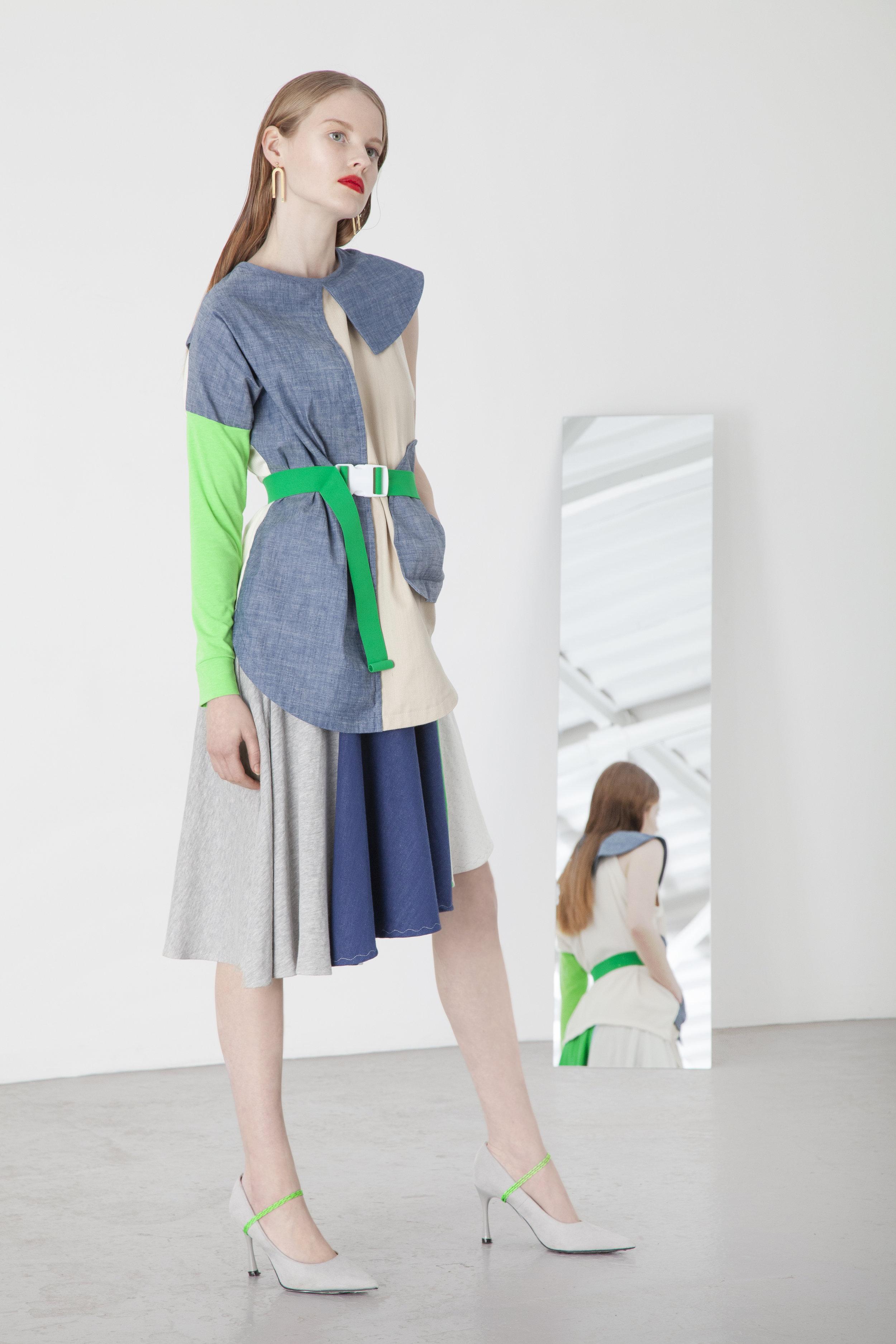 Asymmetric+denim+top+with+panelled+full+circular+skirt.jpg