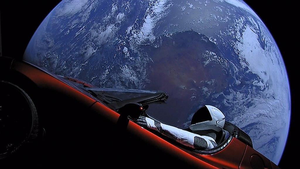 SpaceX (Falcon Heavy Demo Mission) [CC0 or CC0], via Wikimedia Commons