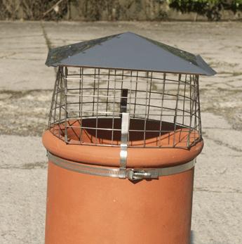 Solid Fuel Chimney Bird Guard