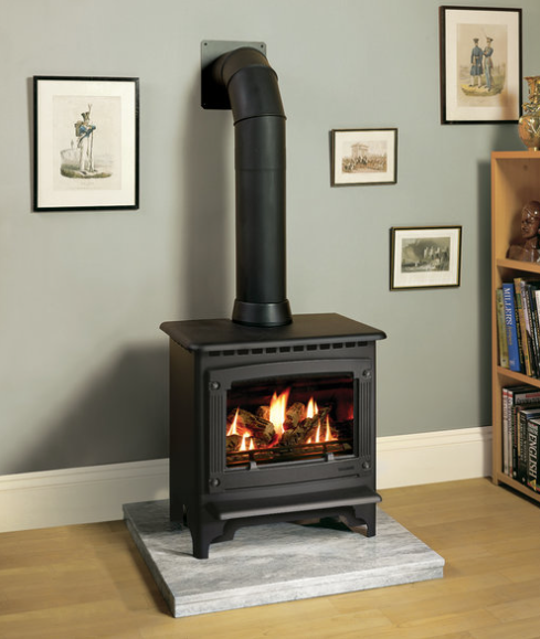 Gazco Medium Marlborough Log Effect Stove.png