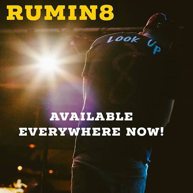 It's finally time to #LookUp out now everywhere! Check the link in the bio to find your platform! Thank you to everybody who pre-ordered! The feedback so far has been great I'm really excited to see where we can take this album... #loveyouall . . . #rumin8 #Rumin8raps #rumin8records #8  #Denvermusic #303music #denver #artists #musicians #producers #newalbum