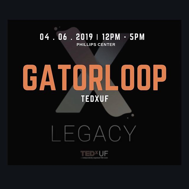 """Looking for an idea worth sharing? What about a team of dedicated students working towards revolutionizing transportation? • This Saturday, April 6th, Gatorloop will be attending TedxUF at the Phillips Center. We welcome you to stop by our table and learn about our mission, values, and current projects. • Our team has been working to redefine our structure and take on new tasks and challenges.  We can't wait to spread our """"ideas worth sharing"""" with you! 🐊"""