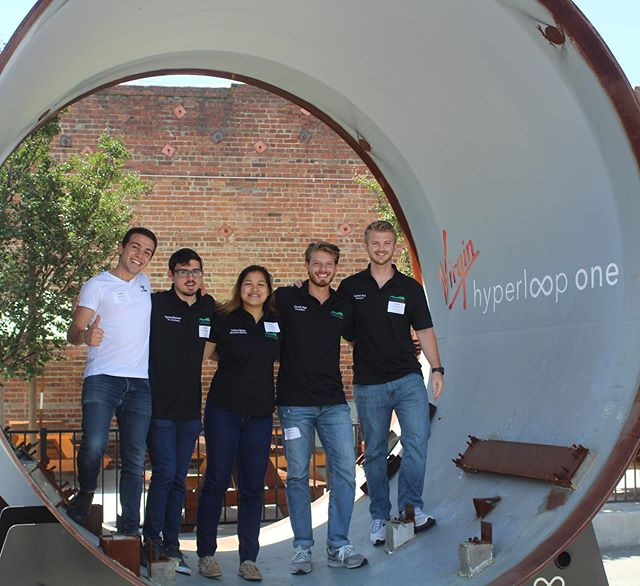 Thank you to @hyperloopone for hosting us today! It was a privilege to get a glimpse into a startup developing the future of transportation 🚄