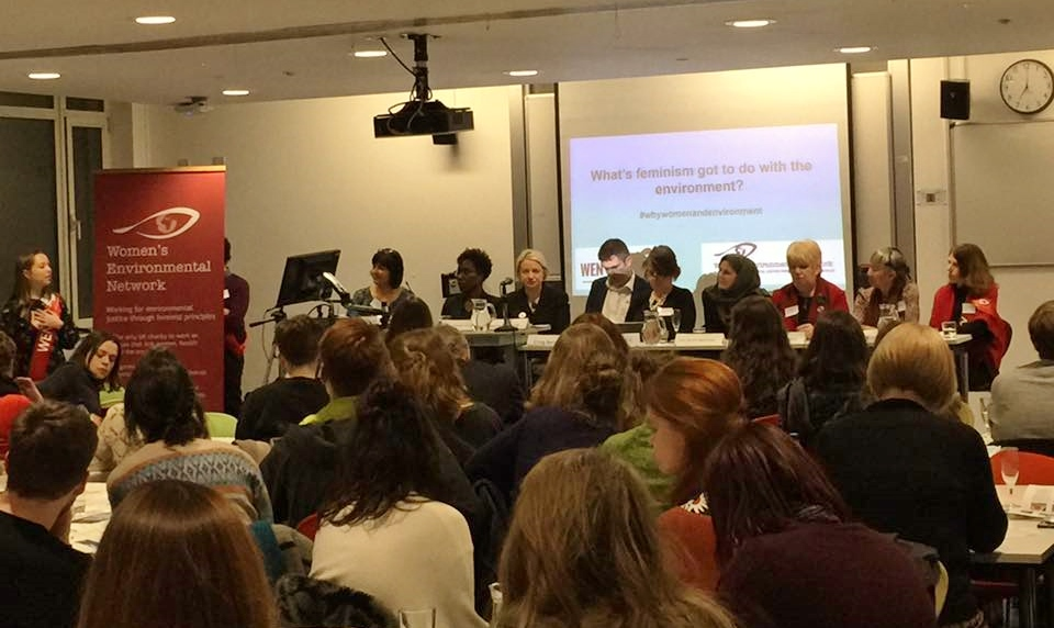 The panel at the WEN Forum in LSE